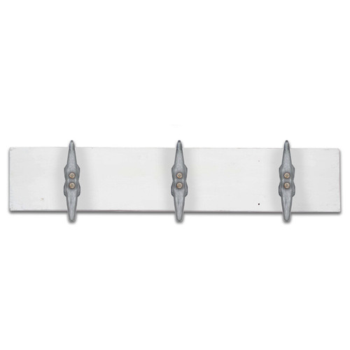 Boat Cleat Towel Holder White CF022
