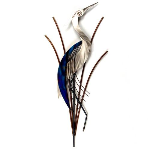 Heron Head Up Abstract