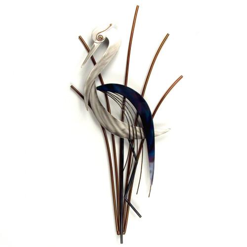 Heron Head Down