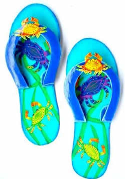 Crab Flip Flops Artwork