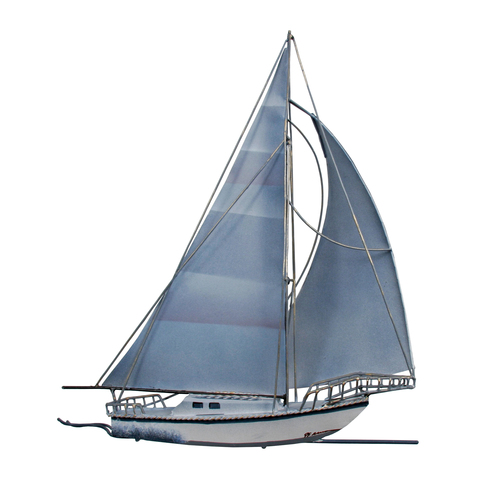 Sailboat -  Metal Wall Art