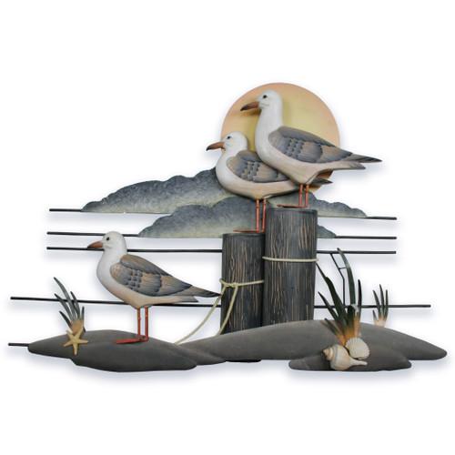 Seagull Trio Wall Art CW233