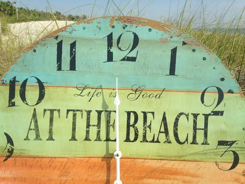 Beach Wall Clock Large