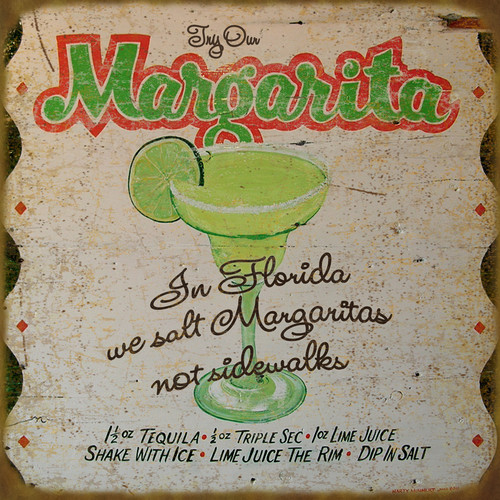 Try Our Margarita Wooden Wall Sign
