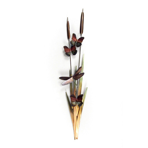 Cattails Indoor/Outdoor Wall Art
