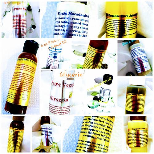 NATURAL PURE HAIR AND BODY OILS - Natural Hair & Body Oils