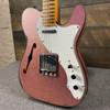 Fender Custom Shop 60s Custom Tele Thinline Relic Maple Fingerboard Champagne Sparkle CZ549818