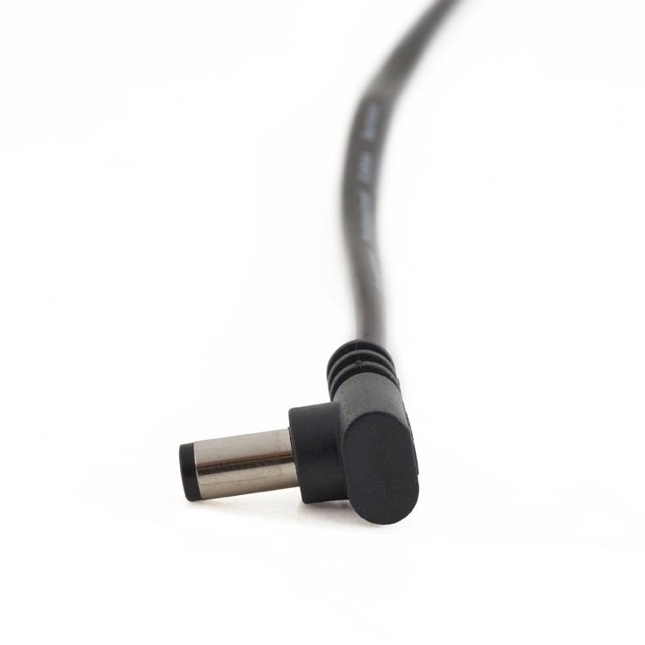 """RockBoard Power Supply Cable Black 60CM / 23.62"""" Angled Straight"""