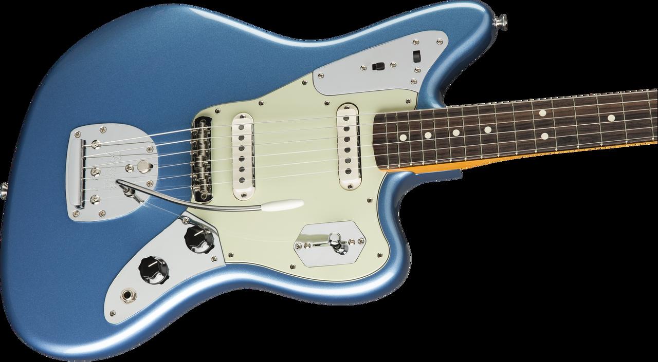 Fender Johnny Marr Jaguar Rosewood Fingerboard Lake Placid Blue 0116400702  - The Guitar StoreThe Guitar Store