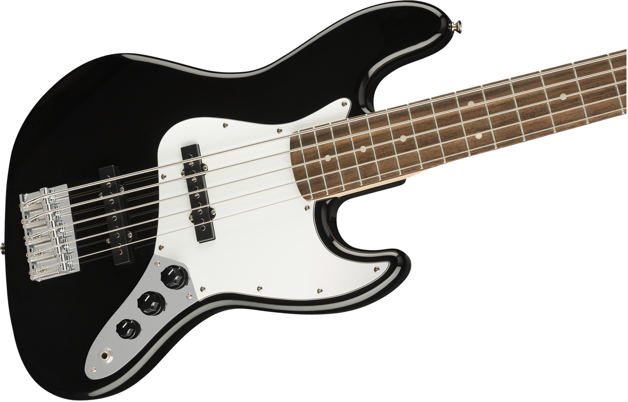 Fender Squier Affinity Series Jazz Bass V 5 String Black 0371575506
