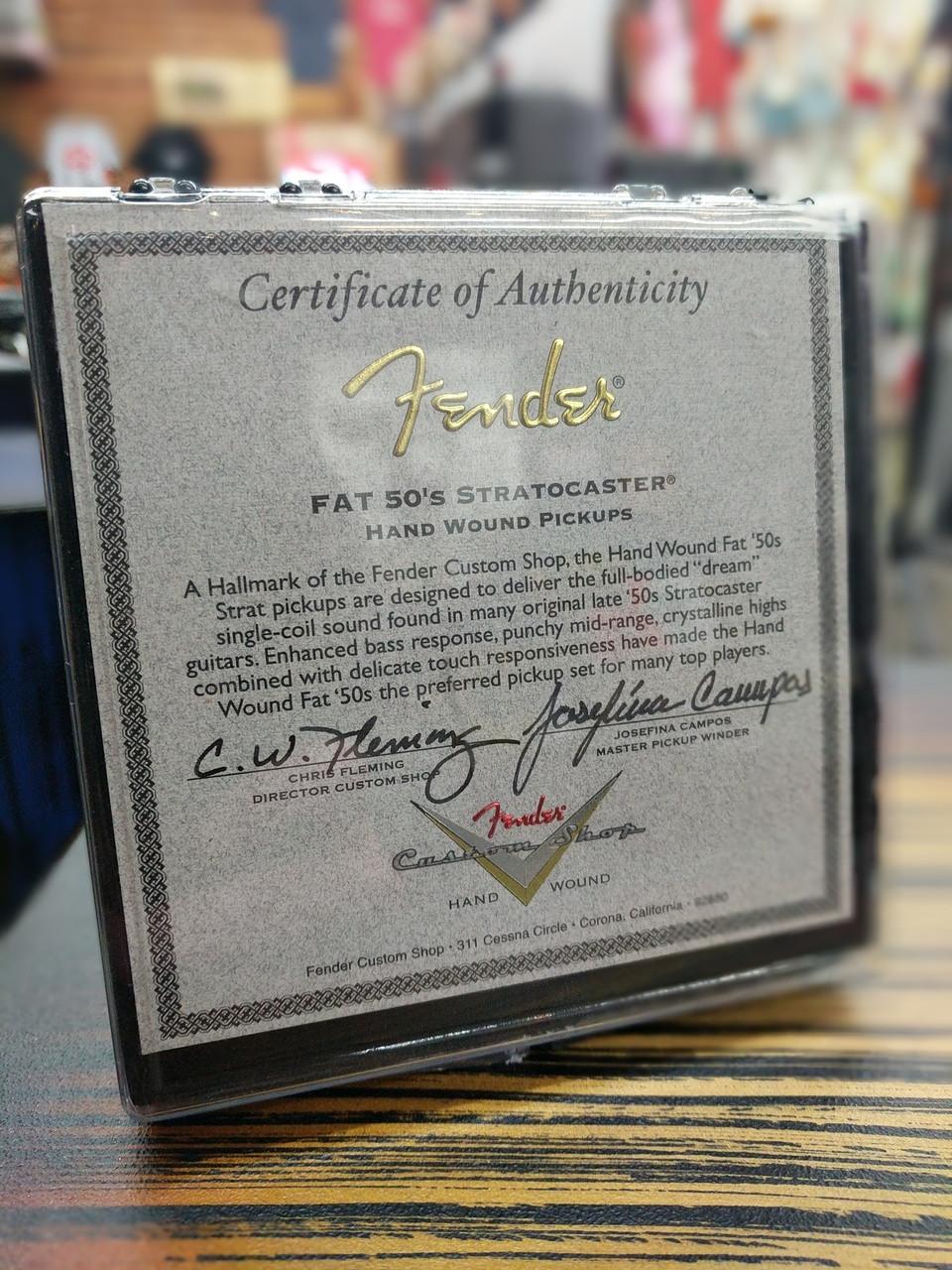 Fender Josefina Hand Wound Fat '50s Stratocaster Pickup Set 0992272000