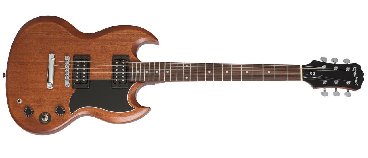 Epiphone SG Special VE Vintage Worn Ebony E-Gitarre