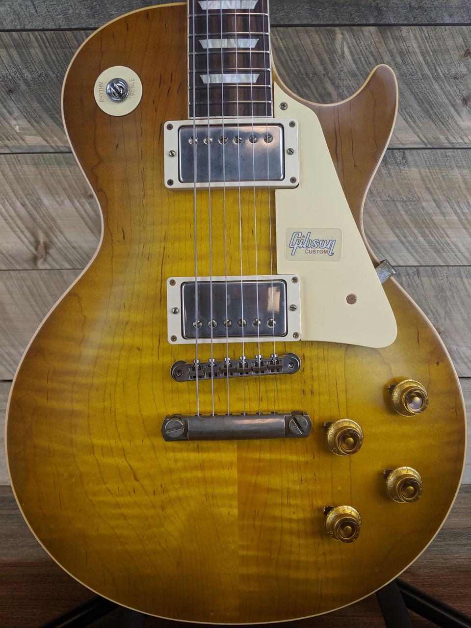 Gibson Custom Shop 1958 Les Paul Standard Reissue VOS R8 - Lemon Burst 89542