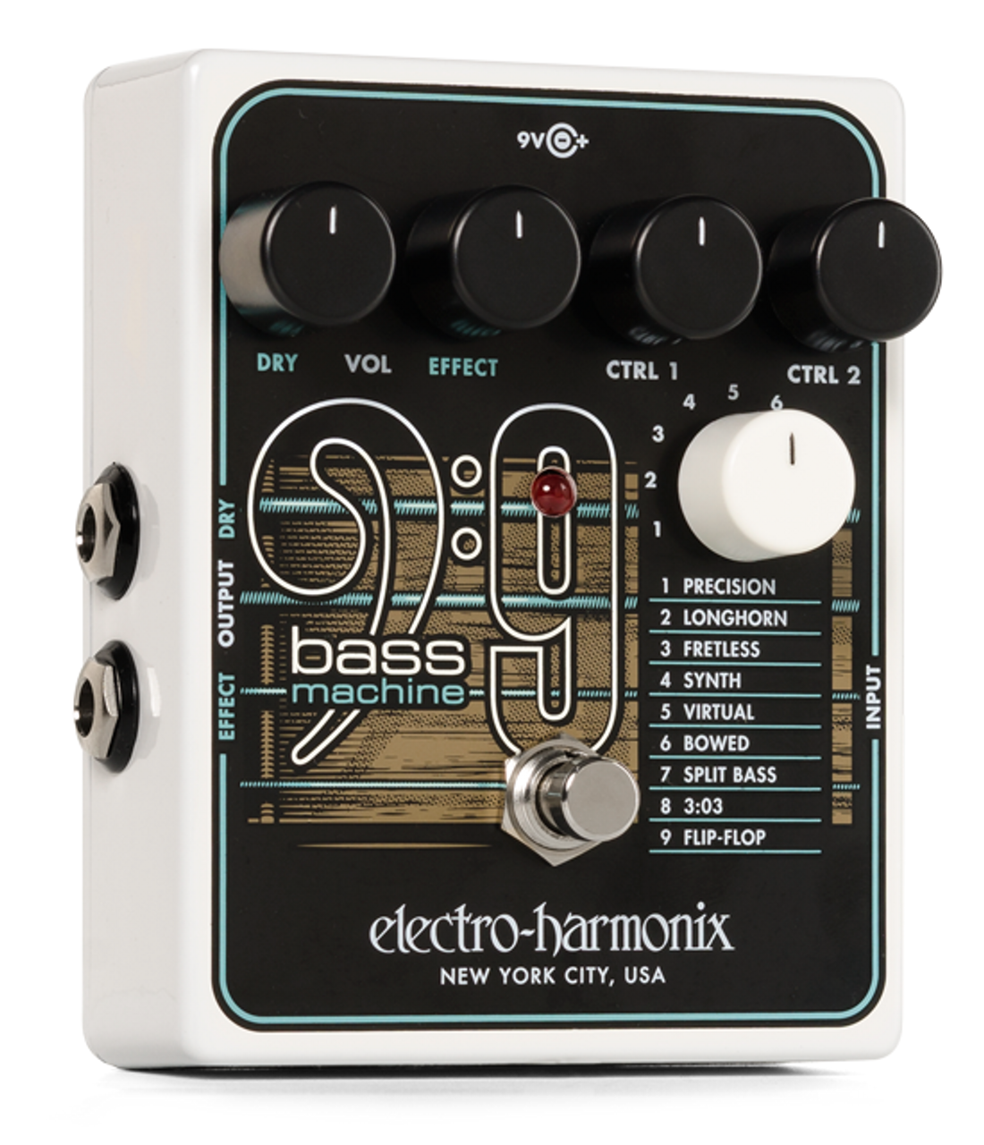 Used Electro-Harmonix Bass Blogger Distortion Overdrive Pedal
