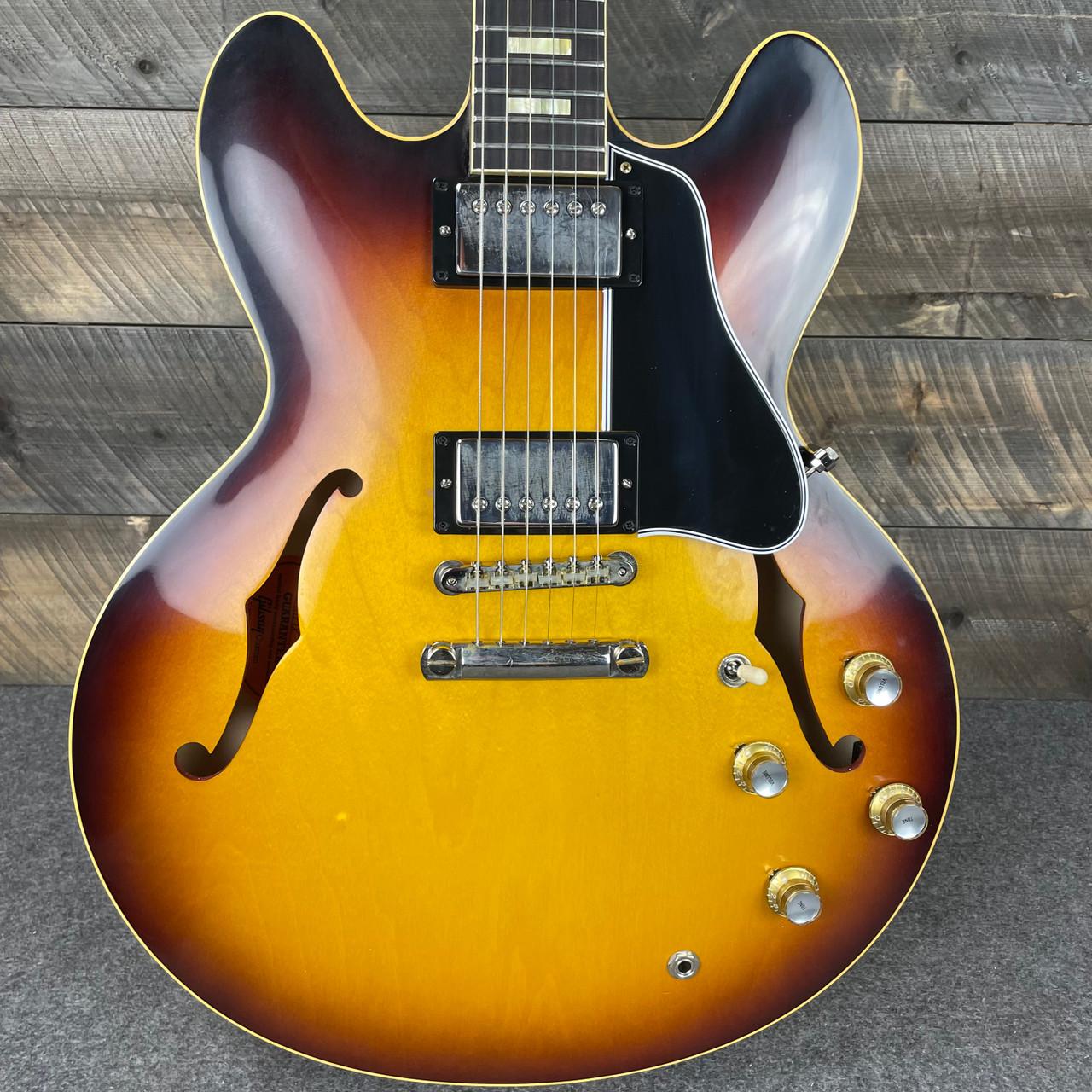 Gibson Custom Shop Historic 1964 ES-335 Reissue - Vintage Burst VOS NH 111218