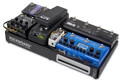 "Rockboard Flat Patch MIDI Cable 11.81/"" Blue"