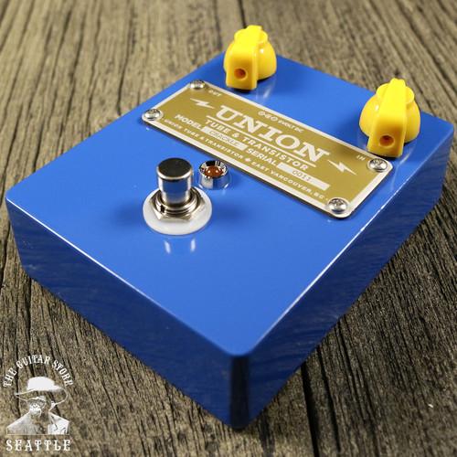 Union Tube & Transistor Crackle Treble Booster Pedal