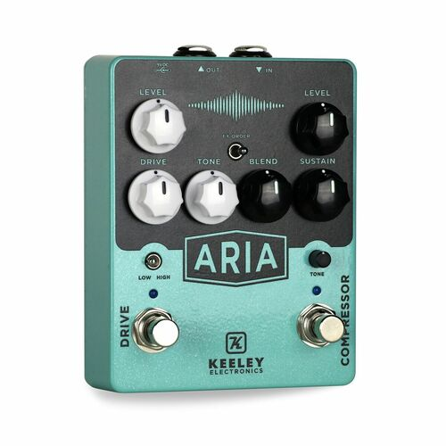 Keeley Aria Compressor Overdrive Pedal