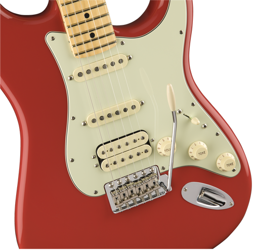 Fiesta Red strat Stratocaster Body US Erle gloss