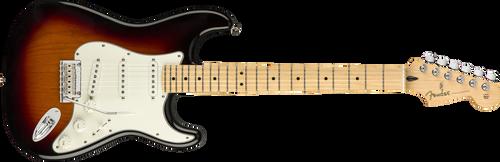 Fender Player Stratocaster Maple Fingerboard 3-Color Sunburst 0144502500