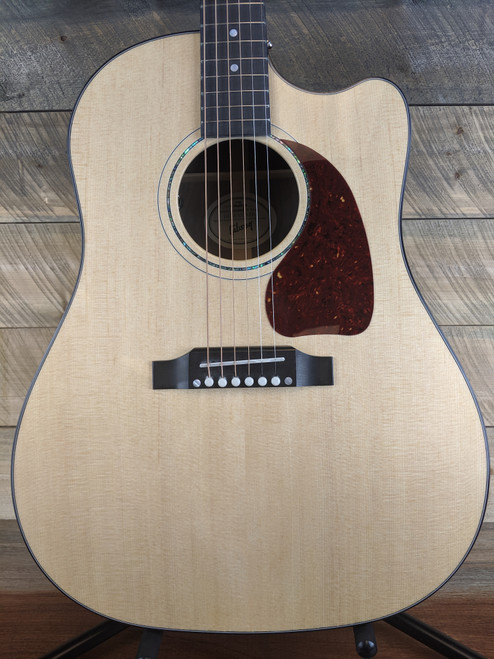 Gibson J-45 M Walnut Acoustic-Electric Guitar - Antique Natural 12319005