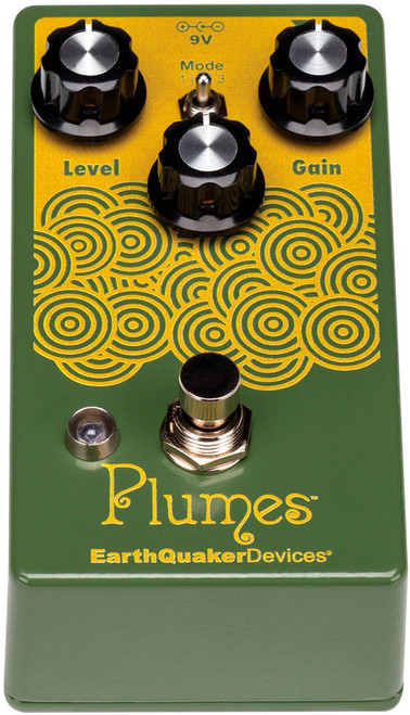 EarthQuaker Devices Plumes Small Signal Shreddar Overdrive Pedal