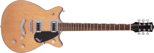Gretsch G5222 Electromatic Double Jet BT with V-Stoptail Laurel Fingerboard Aged Natural