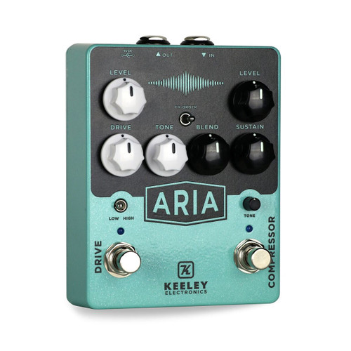 Used Keeley Aria Compressor Overdrive Pedal