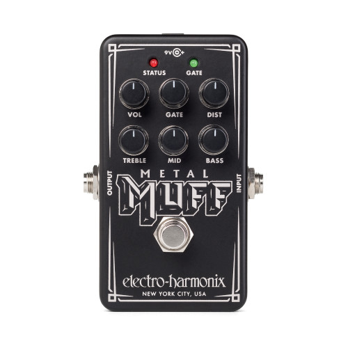 Electro-Harmonix Nano Metal Muff Distortion with Noise Gate Pedal