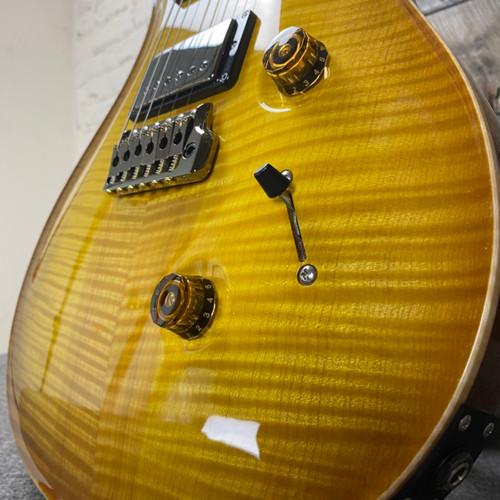 PRS Custom 24 Wood Library Livingston Lemondrop Flame Maple 10 Top  Roasted Maple Neck Brazilian FB 309988