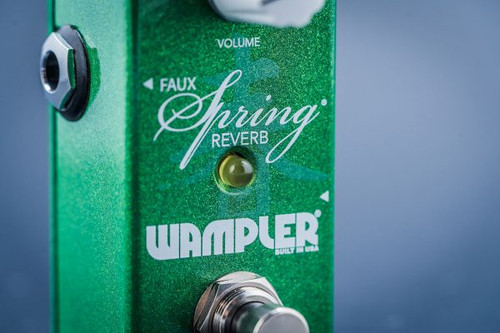 Used Wampler Mini Faux  Spring Reverb Pedal