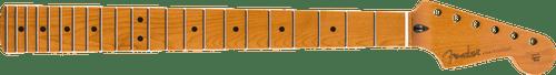 "Fender Roasted Maple Stratocaster Neck 22 Jumbo Frets 12"" Maple Flat Oval Shape 0990402920"