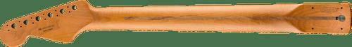 "Fender Roasted Maple Stratocaster Neck 22 Jumbo Frets 12"" Pau Ferro Flat Oval Shape 0990403920"