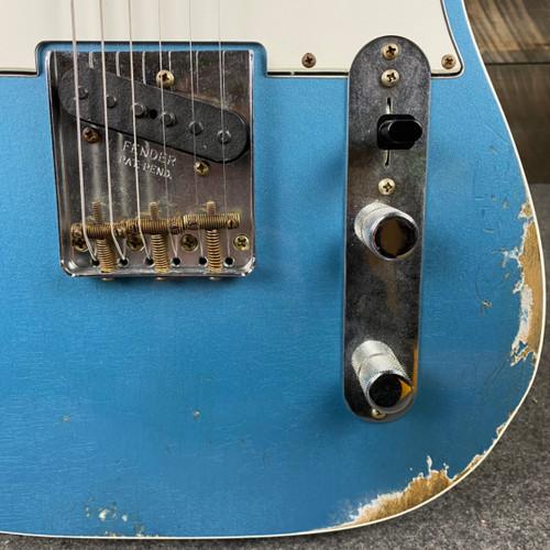Fender Custom Shop 1960 Telecaster Custom Relic Blue Agave Rosewood Fingerboard R105070