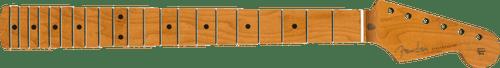 """Fender Roasted Maple Vintera Mod 50's Stratocaster Neck 21 Medium Jumbo Frets 9.5"""" """"V"""" Shape 0999962920"""