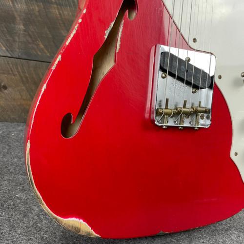 Fender Custom Shop 50's Thinline Telecaster Dakota Red Relic R104311