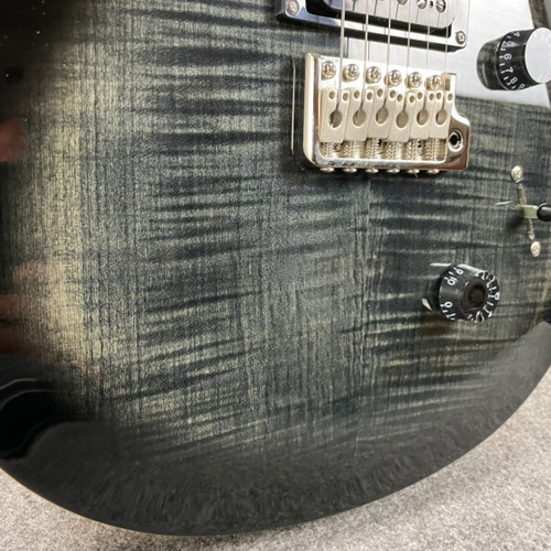 PRS SE Custom 24 - Charcoal Burst 58495