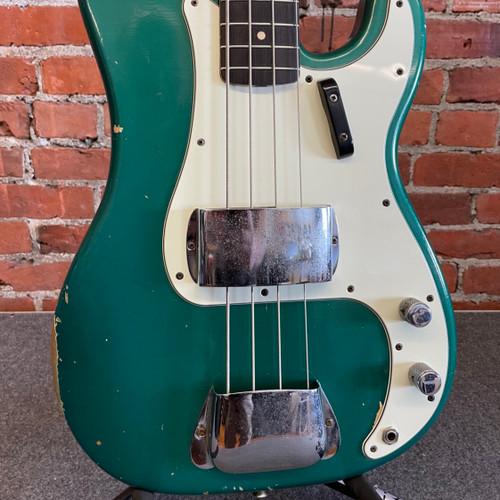 1963 Fender Precision Bass Custom Color Sherwood Green w/ohsc