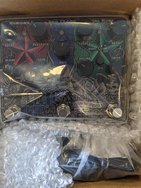 Electro-Harmonix Tone Tattoo Multi-Effects Pedal - NOS - Made in NYC