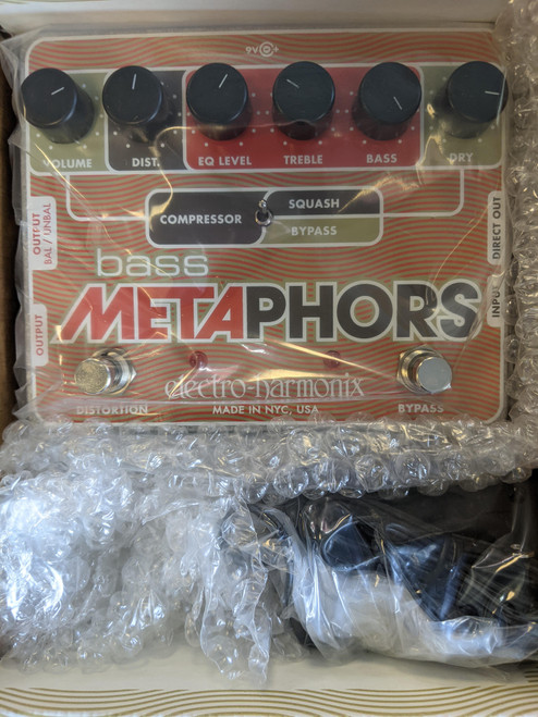 Electro-Harmonix Bass Metaphors Preamp Pedal - NOS - Made in NYC