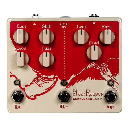 EarthQuaker Devices Hoof Reaper V1 Octave Fuzz Pedal - NOS