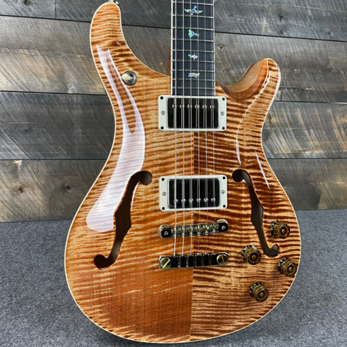 PRS McCarty 594 Hollowbody II Flame Maple 10 Top - Copperhead 319800