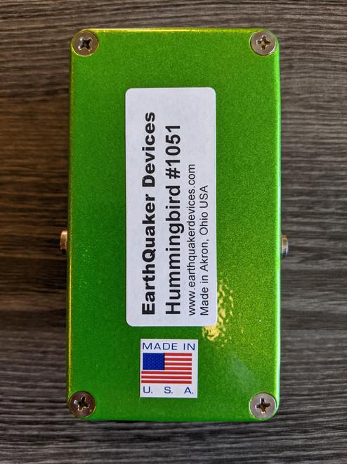 EarthQuaker Devices Hummingbird Tremolo Pedal - NOS