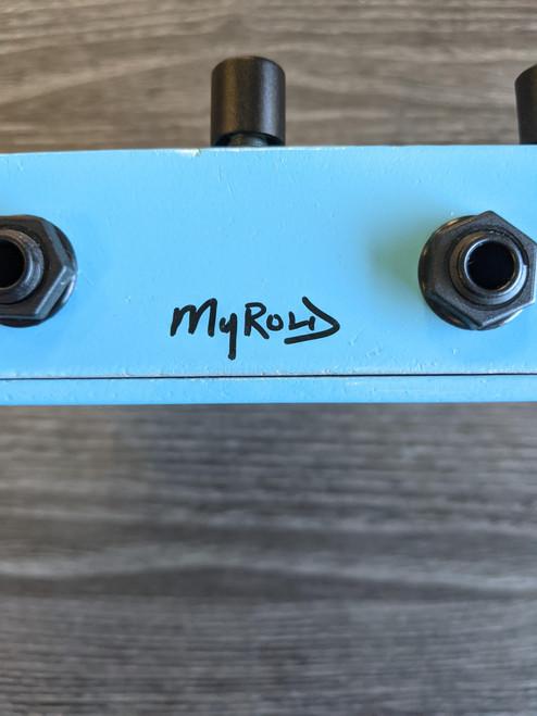 Pigtronix EMT Tremvelope Tremolo Pedal - Signed by Artist Jason Myrold - NOS