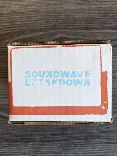 Death by Audio Soundwave Breakdown Fuzz Pedal - 2 Knob Version - NOS