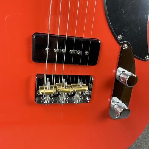 Fender  Noventa Telecaster Maple Fingerboard Fiesta Red MX21095349