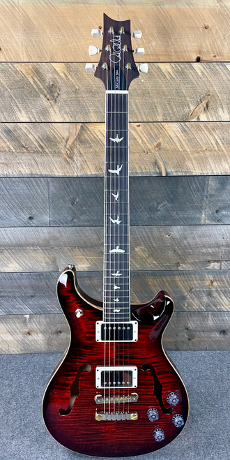 PRS McCarty 594 Hollowbody II Flame Maple Top - Fire Red Burst 318601