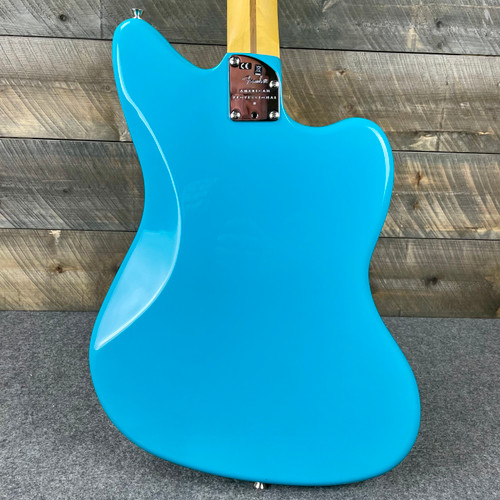 Fender  American Professional II Jazzmaster Left-Hand Maple Fingerboard Miami Blue US210054231
