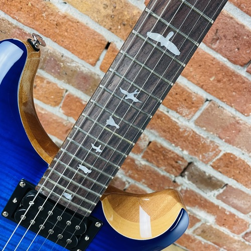 PRS SE Custom 24 - Faded Blue Burst 22391