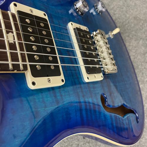 PRS CE 24 Semi-Hollow Custom Color - Blue Matteo Burst 327137